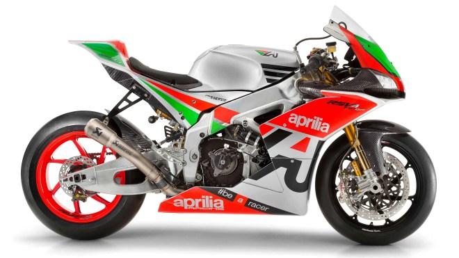 Aprilia RSV4 R-FW GP, replica MotoGP da 250 cavalli