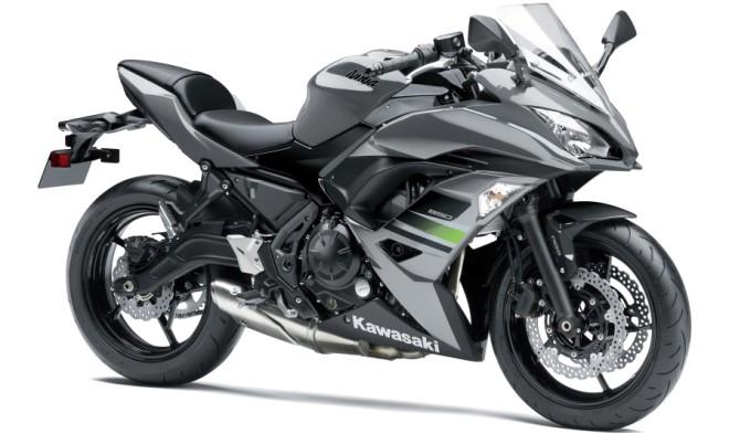Kawasaki Z650 e Ninja 650 m.y. 2018