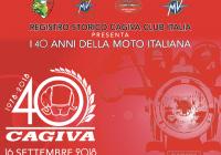"""Cagiva: """"I 40 anni della moto italiana"""""""