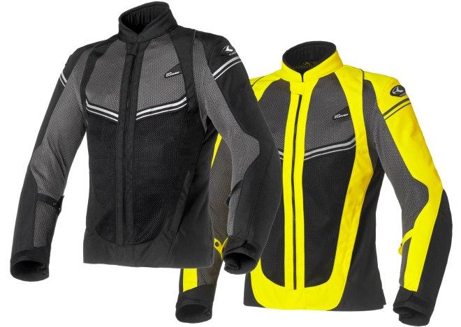Clover Airjet-4 e Storm: giacca+guanti a meno di 200 €
