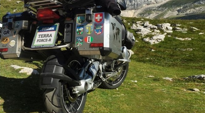 Intermot 2018: Mitas amplia la gamma di pneumatici TERRA FORCE-R con dimensioni aggiuntive per grandi moto d'avventura