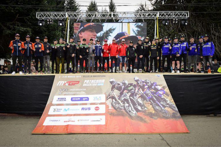 Mondiale Motocross ai cancelli di partenza, tutti a Nequen