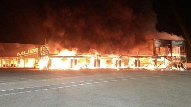 MotoE – Confermate le Cause dell'Incendio nel paddok di Jerez