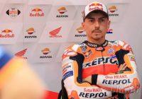 Lorenzo ha corso il GP del Qatar con fratture costali non identificate durante il week end di gara.