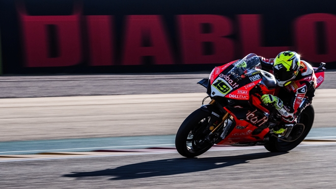 Superbike Aragon 2019, Superpole Race: Bautista fa 8, Rea 2°, Lowes 3°