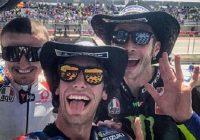 MotoGP Austin: il cowboy disarcionato, vince Rins davanti a Rossi