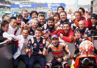 MotoGP Le Mans, trionfa Marquez sulle Ducati e va a quota 300 con Honda
