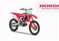 Honda: gamma CRF 2020