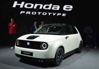 Honda: Il sistema di retrovisori laterali digitali sarà di serie sulla elettrica e!