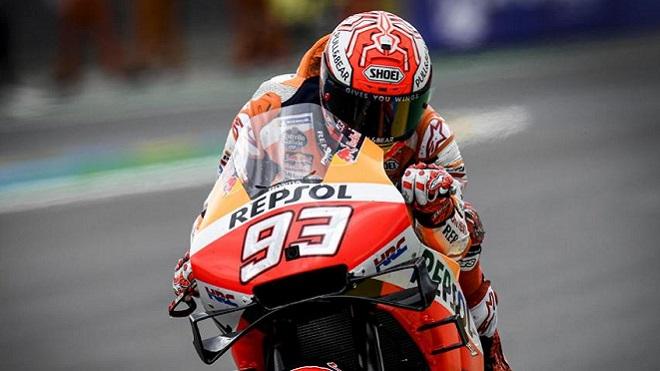 MotoGP Gran Premio di Francia: Marquez in pole sul bagnato