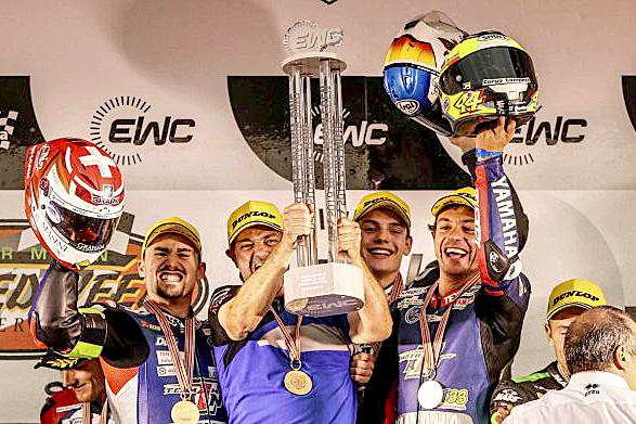 EWC: Roby Rolfo campione del mondo Endurance SuperStock