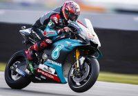 MotoGP al termine delle FP3 Quartararò in vetta, Valentino in Q1
