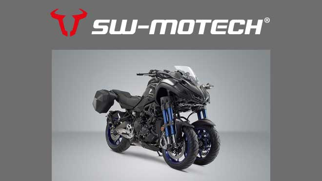 SW-MOTECH: Linea accessori dedicati per la Yamaha Niken
