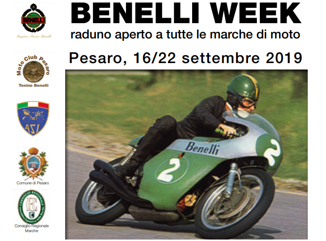 Benelli Week 2019: omaggio a Kel Carruthers