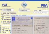 Documento unico di circolazione: altro rinvio