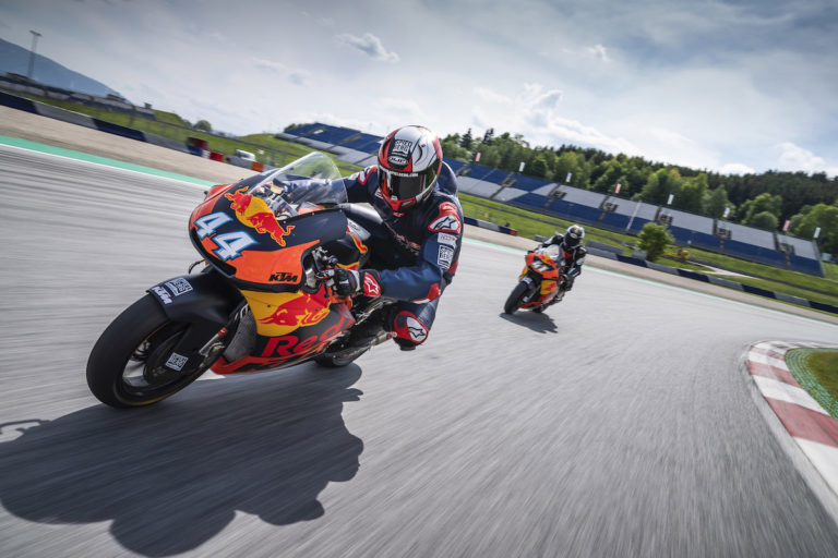 Guidare in pista una Moto2? Da quest'anno è possibile, con KTM al Red Bull Ring, in Austria
