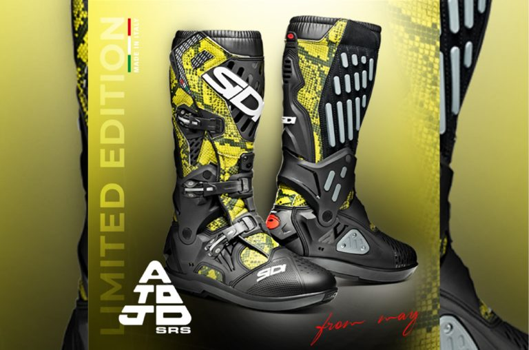 SIDI ATOJO: ECCO LA LIMITED EDITION PITONATA PER L'OFF-ROAD