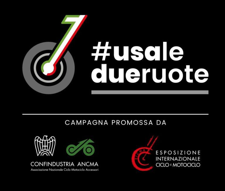 #Usiamoledueruote, la nuova campagna di EICMA e ANCMA