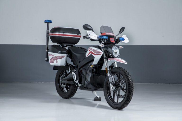 ZERO MOTORCYCLES –  Con le DSR le forze dell'ordine puntano sull'elettrico
