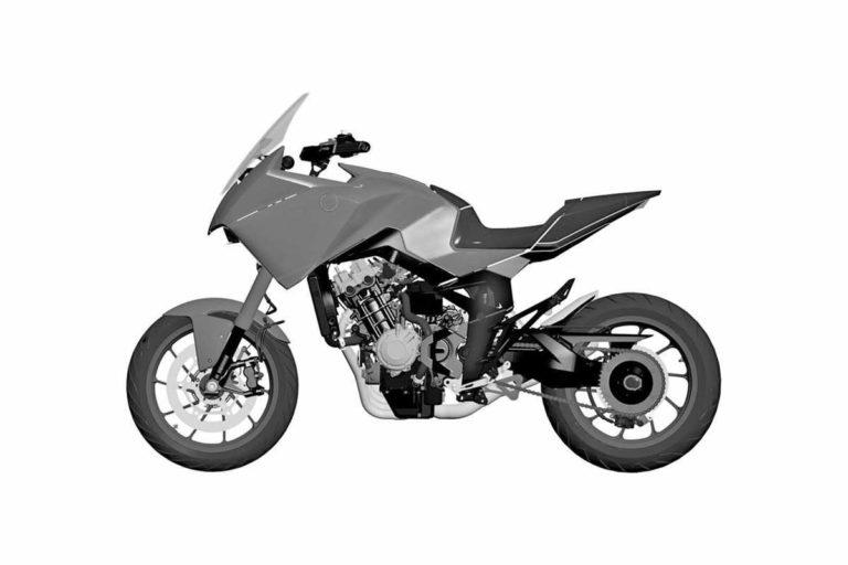 Honda CB4X: si chiamerà CB650X?