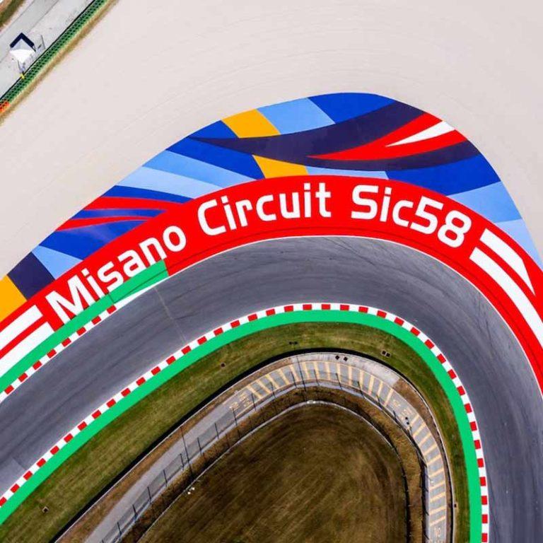Primi giri 2020 in pista a Misano