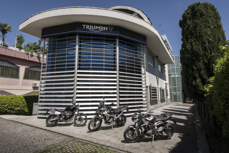Nuova sede per Triumph Italia
