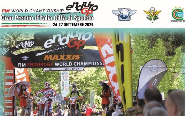A Spoleto il round italiano del campionato mondiale Enduro 2020