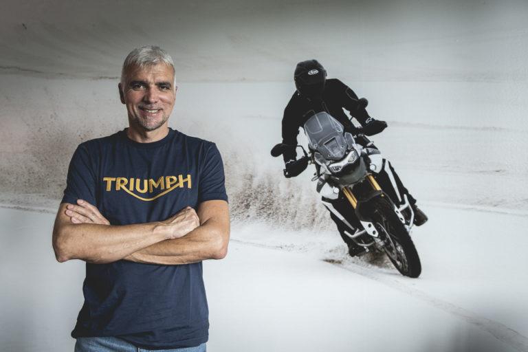Rodolfo Frascoli racconta la sua Triumph Tiger 900