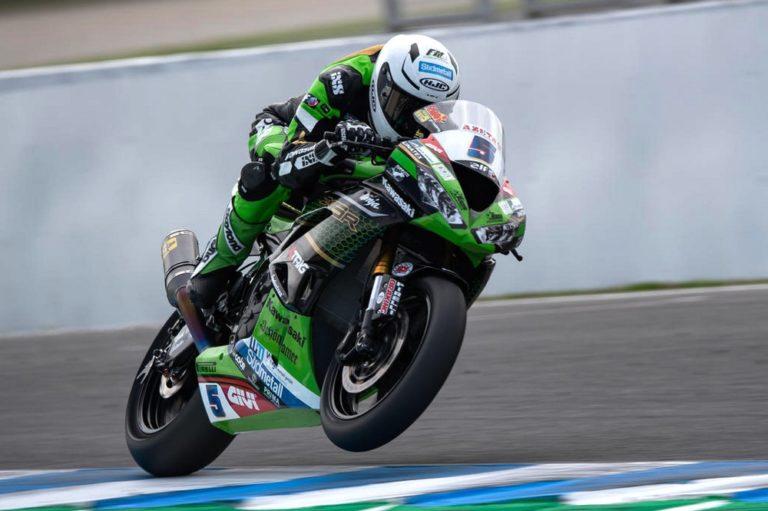 Kawasaki Puccetti Racing al CIV a Misano