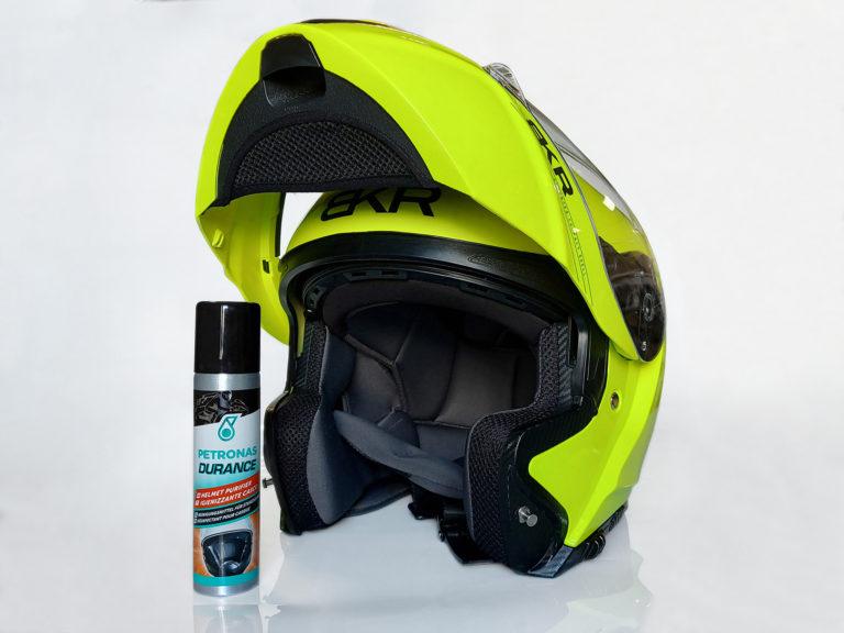 Petronas Durance: casco pulito e igienizzato come in MotoGP