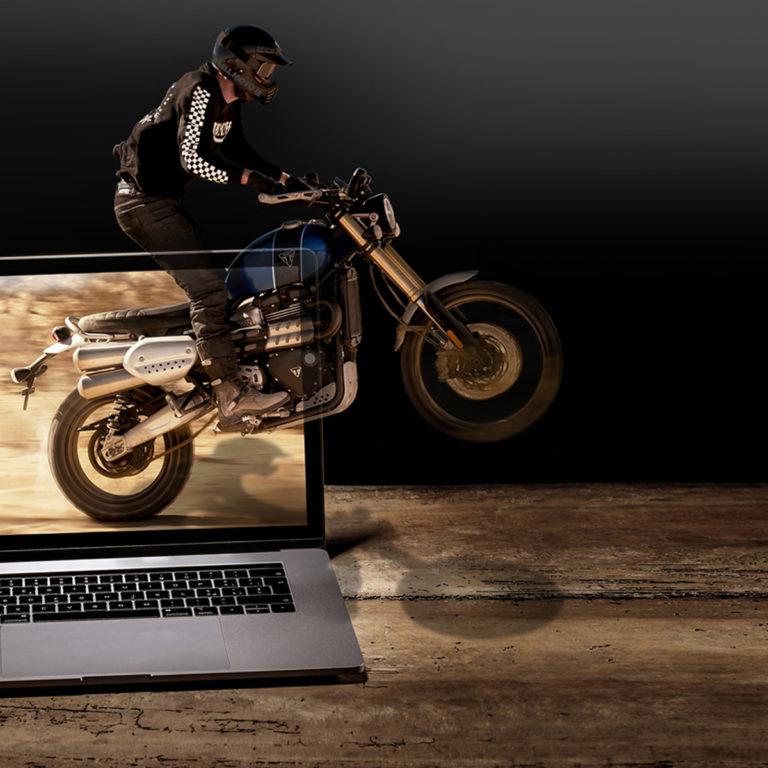 Triumph First, per acquistare la tua nuova moto on-line