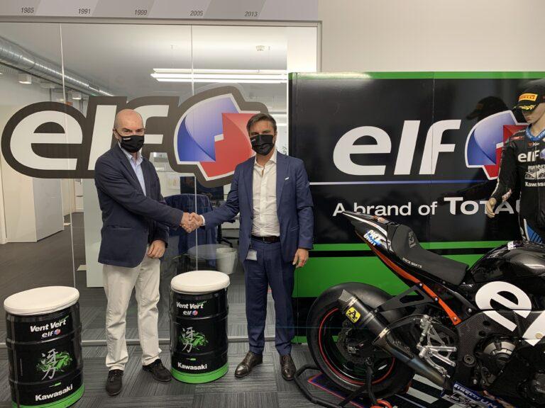 Kawasaki Italia assieme ad ELF anche per il 2021