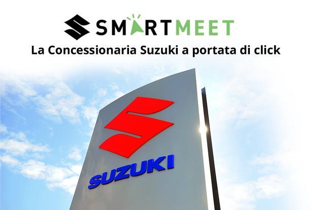 Suzuki Smart Meet, l'agenda virtuale dei concessionari Suzuki Moto