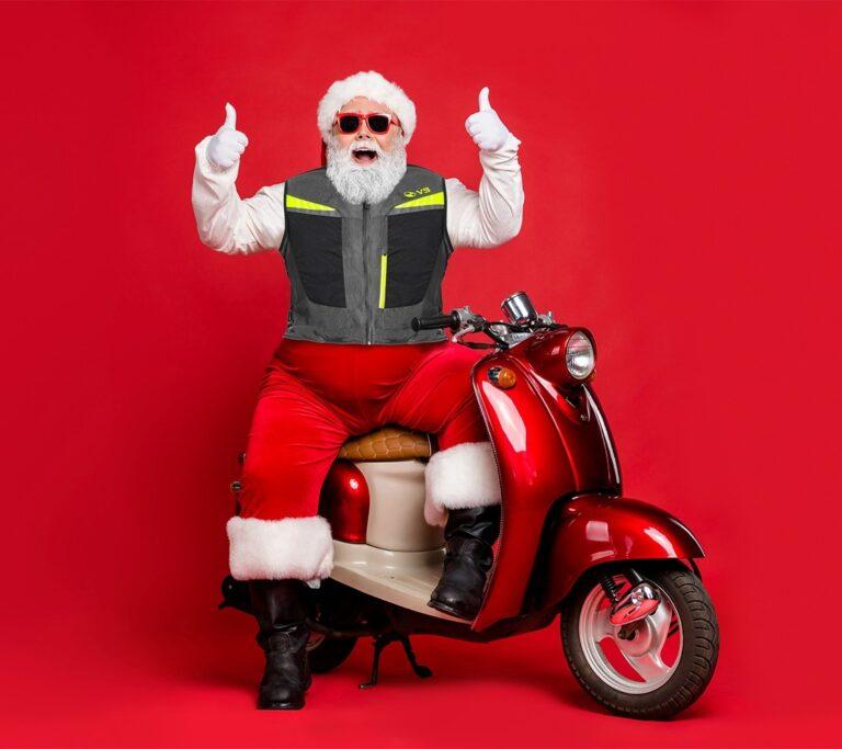 MOTOAIRBAG: Per il prossimo Natale regala protezione.