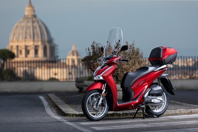 Honda Vision 110 2021: perfetto per cominciare.