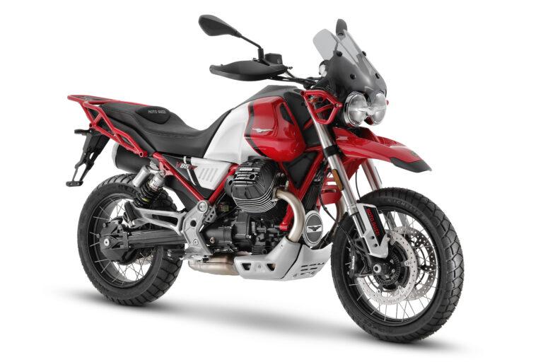 V85 TT 2021: più cavalli e pneumatici tubeless