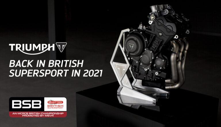 Triumph lavora per il Mondiale Supersport 2022
