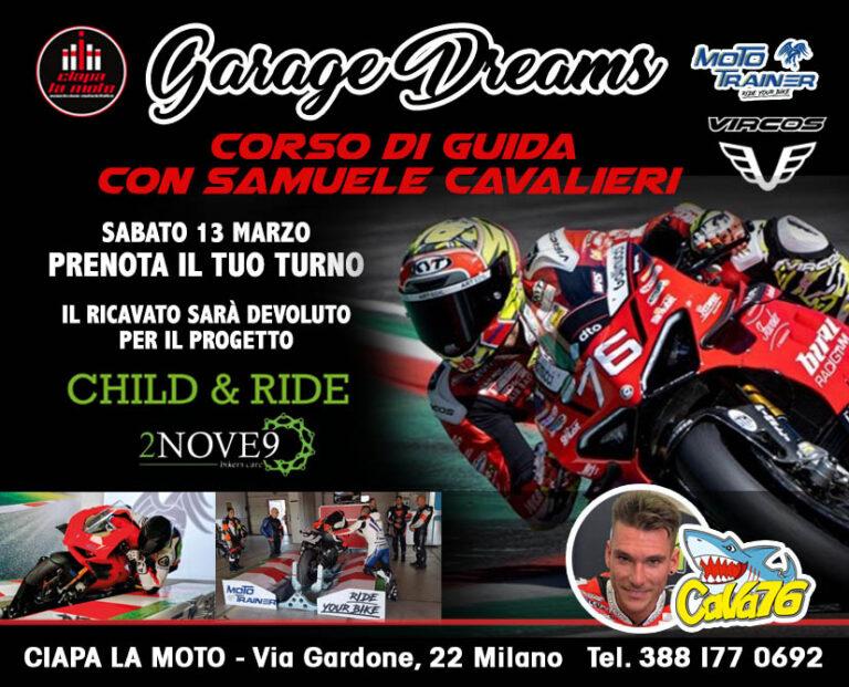 Ciapa la Moto Garage Dreams per Child & Ride
