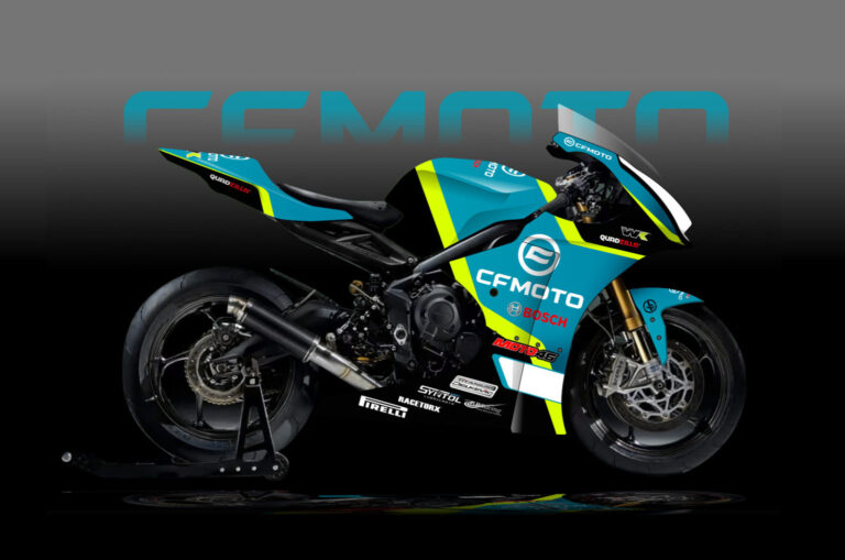 CF Moto in pista nella categoria Supertwin