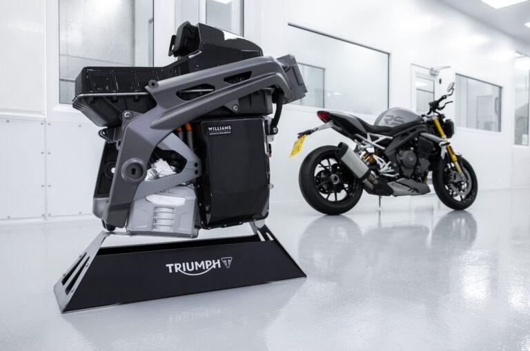 Te-1, la prima elettrica di Triumph in arrivo?