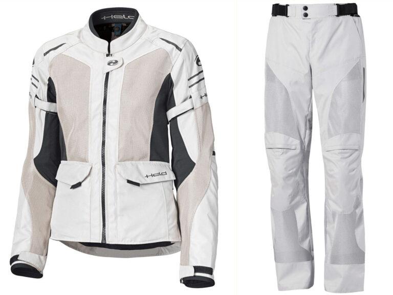Completo estivo touring HELD: giacca Jakata e pantaloni Zeffiro 3.0